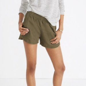 Madewell Olive Green Bermuda Shorts Size XS
